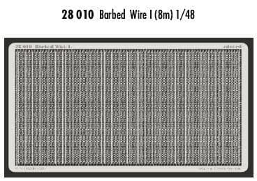 Eduard 1/48 Barbed Wire I 8 metres # 28010