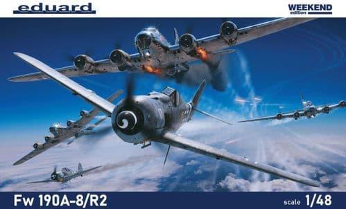 Eduard 1/48 Focke-Wulf Fw-190A-8/R2 Weekend Edition # K84114