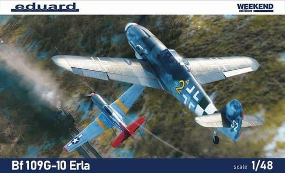 Eduard 1/48 Messerschmitt Bf-109G-10 ERLA Weekend Edition # K84174