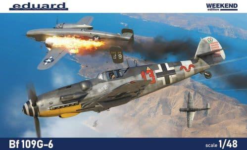 Eduard 1/48 Messerschmitt Bf-109G-6 Weekend Edition # K84173