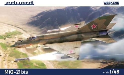 Eduard 1/48 Mikoyan MiG-21bis Weekend Edition # K84130