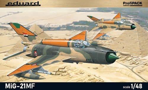 Eduard 1/48 Mikoyan MiG-21MF ProfiPACK Edition # K8231