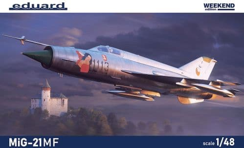 Eduard 1/48 Mikoyan MiG-21MF Weekend Edition # K84177