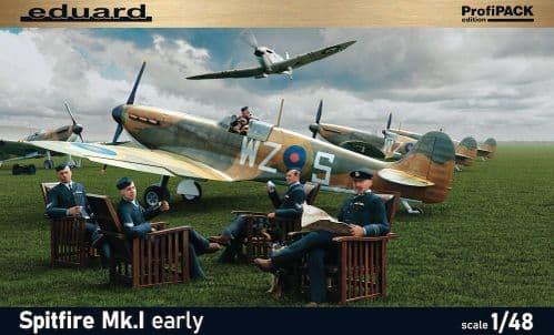 Eduard 1/48 Supermarine Spitfire Mk.I Early ProfiPACK Edition # K82152
