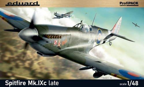Eduard 1/48 Supermarine Spitfire Mk.IXc Late Version Re-Edition ProfiPACK Edition # K8281
