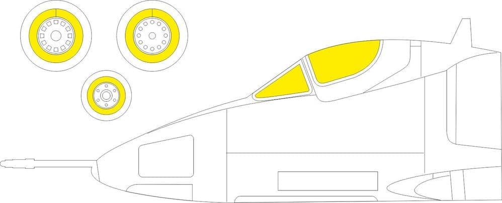 Eduard 1/72 Douglas A-4B Skyhawk Paint Mask # CX602