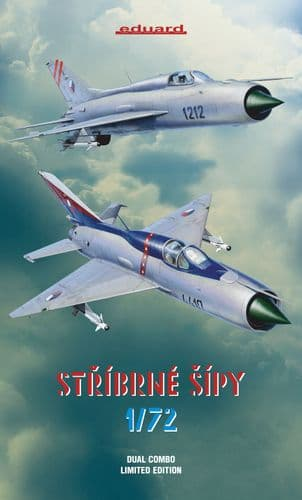 Eduard 1/72 STRIBRNE SIPY Limited Edition Dual Combo # K2134