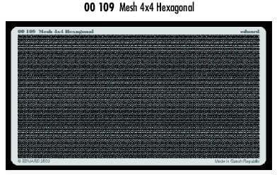 Eduard Mesh 4x4 Hexagonal # 00109