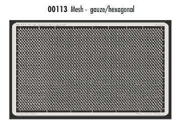 Eduard Mesh - Gauze/ Hexagonal # 00113