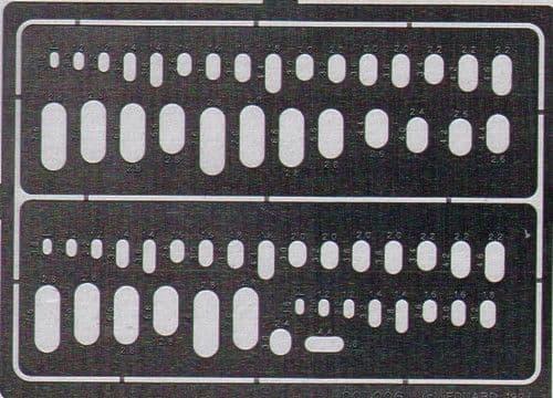 Eduard Ovals templates # 00006
