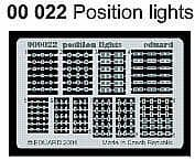 Eduard Position Lights # 00022