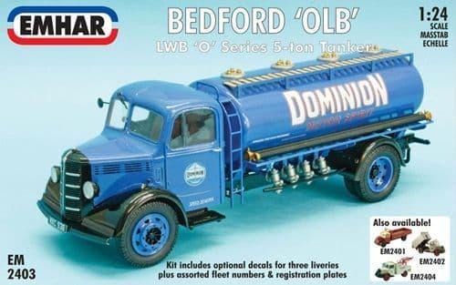 Emhar 1/24 Bedford 'OLB' LWB 'O' Series 5-ton Tanker # 2403