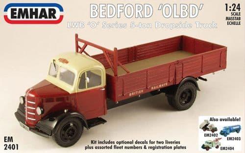 Emhar 1/24 Bedford 'OLBD' LWB 'O' Series 5-ton Dropside Truck # 2401