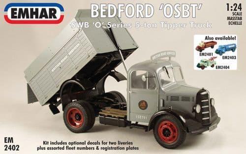 Emhar 1/24 Bedford 'OSBT' SWB 'O' Series 5-ton Tipper Truck # 2402