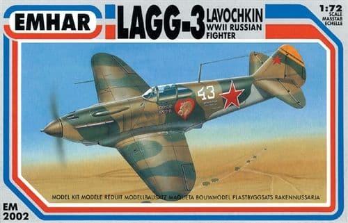 Emhar 1/72 Lavochkin LaGG-3 WWII Russian Fighter # 2002
