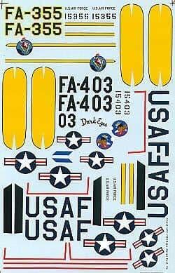 Experts Choice 1/48 Lockheed F-94B Starfire # 4833