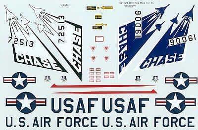 Experts Choice 1/48 Republic F-106A/F-106B Detachment 15 # 4824