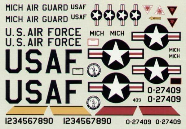 Experts Choice 1/48 Republic RF-84F/K Thunderflash # 4802
