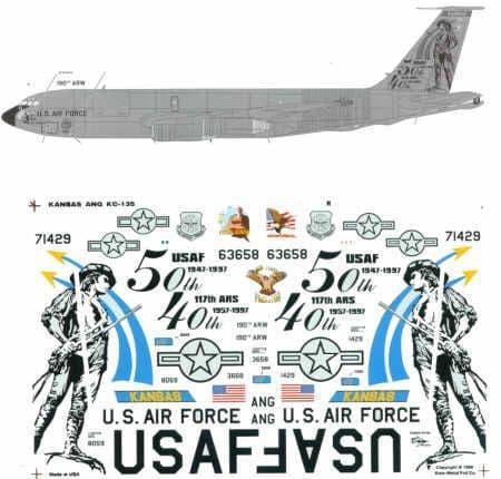 Experts Choice 1/72 Boeing KC-135D/E # 7221
