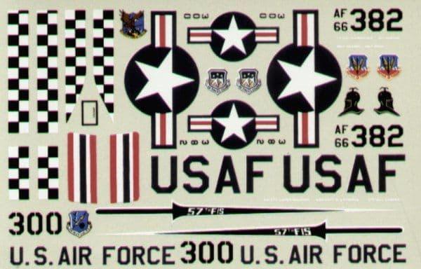 Experts Choice 1/72 McDonnell F-4E Phantom 57th FIS Keflavik # 7204