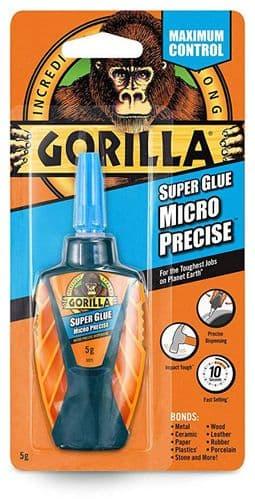 Expo Tools - Gorilla Super Glue Micro Precise 5g # 44351