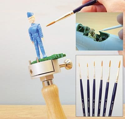 Expo Tools - Ultimate Figure Painting Detail Brush Set # 45550