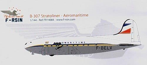 F-rsin 1/144 Boeing B-307 Stratoliner Aeromarine F-BELV # 44084