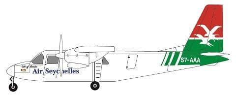 F-rsin 1/144 Britten-Norman BN-2A Islander- Air Seychelles # 44117