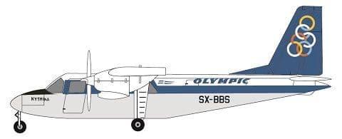 F-rsin 1/144 Britten-Norman BN-2A Islander- Olympic SX-BBS # 44118