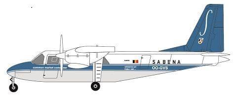 F-rsin 1/144 Britten-Norman BN-2A Islander- Sabena # 44115