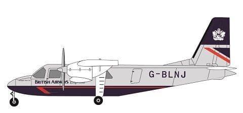 F-rsin 1/144 Britten-Norman Islander - British Airways # 44116