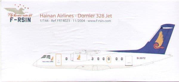 F-rsin 1/144 Dornier Do-328 Jet 'Hainan Airlines' # 44023