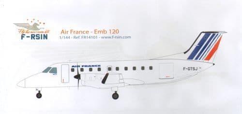 F-rsin 1/144 Embraer 120 - Air France # 44101