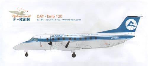 F-rsin 1/144 Embraer 120 - DAT # 44103