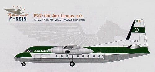F-rsin 1/144 Fokker F-27-100 Aer Lingus o/c # 44074