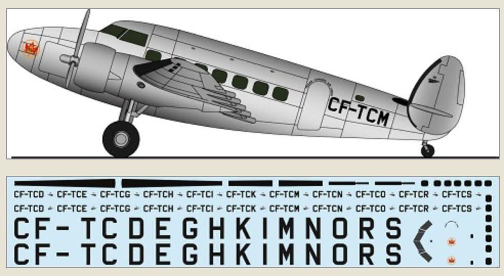 F-rsin 1/144 Lockheed L-14 - TCA # 44128