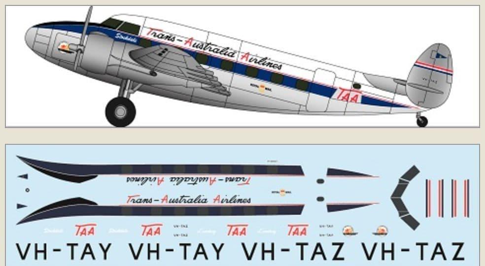 F-rsin 1/144 Lockheed L-18 - TAA # 44131