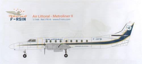 F-rsin 1/144 Metroliner II - Air Littoral # 44106