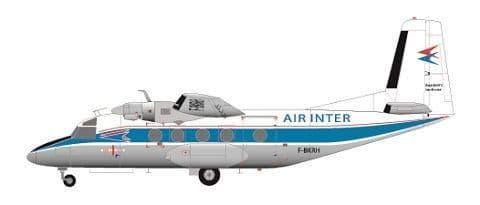 F-rsin 1/144 MH.260 Super Broussard Air Inter # 44111