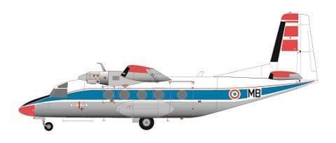 F-rsin 1/144 MH.260 Super Broussard Centre d'Essais en Vol # 44110