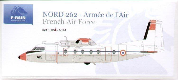 F-rsin 1/144 Nord 262 'Armee de L'air' # 44016