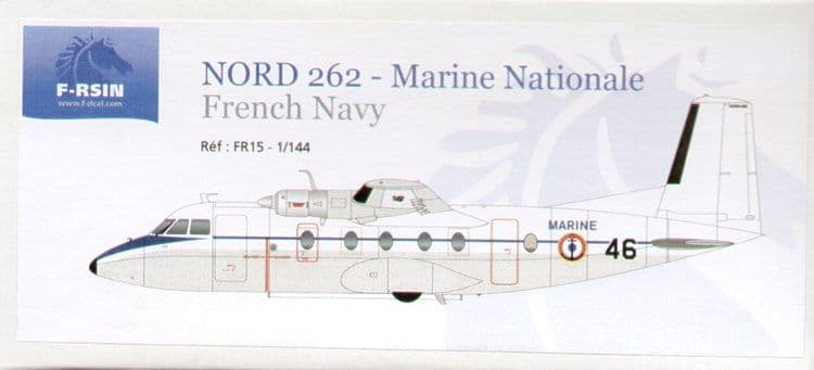 F-rsin 1/144 Nord 262 Marine Nationale # 44015