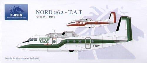 F-rsin 1/144 Nord 262 TAT # 44011