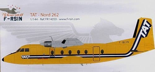 F-rsin 1/144 Nord 262 TAT # 44050