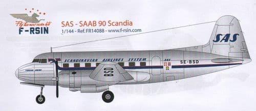 F-rsin 1/144 Saab 90 Scandia SAS # 44088