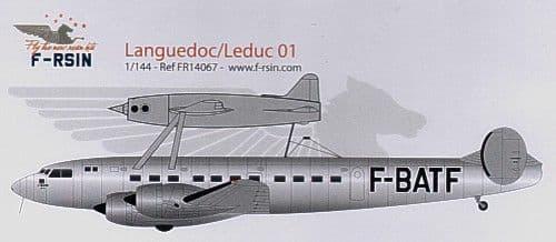 F-rsin 1/144 SE.160 Languedoc/Leduc 01 F-BATF # 44067
