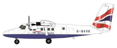 F-rsin 1/144 Twin-Otter - British Airways # 44120