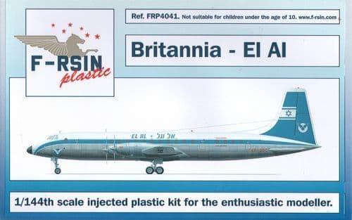 F-rsin Plastic 1/144 Bristol Britannia - El Al # FRP4041