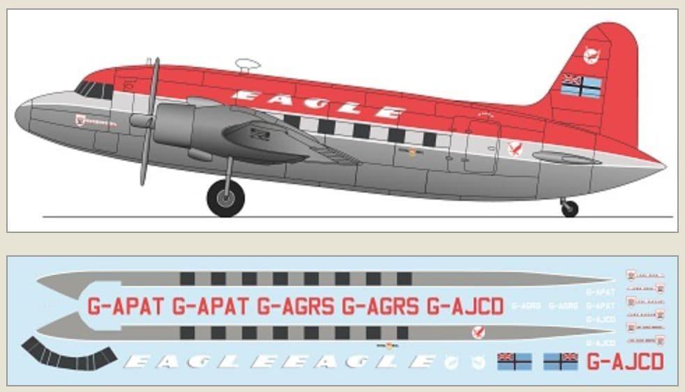 F-rsin Plastic 1/144 Vickers Viking - Eagle # FRP4129