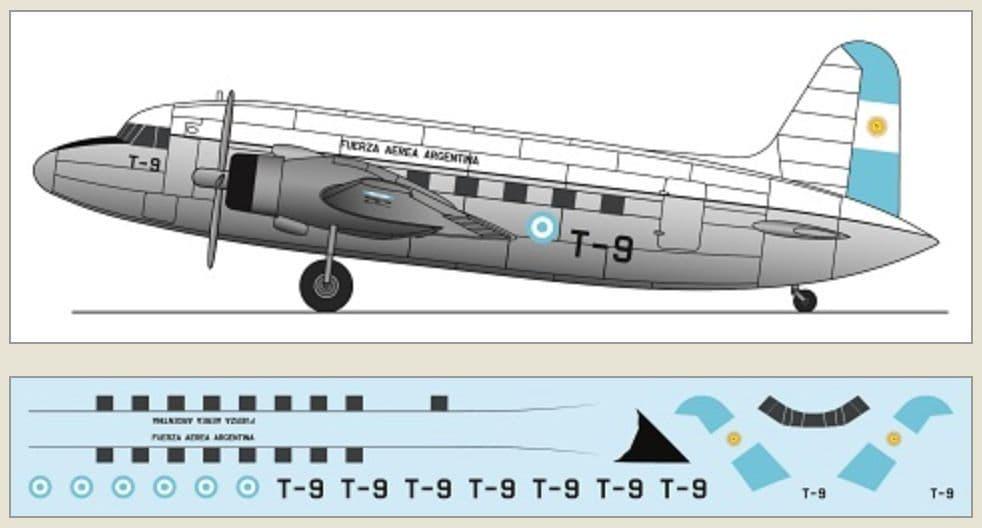 F-rsin Plastic 1/144 Vickers Viking - Fuerza Aérea Argentina # FRP4133